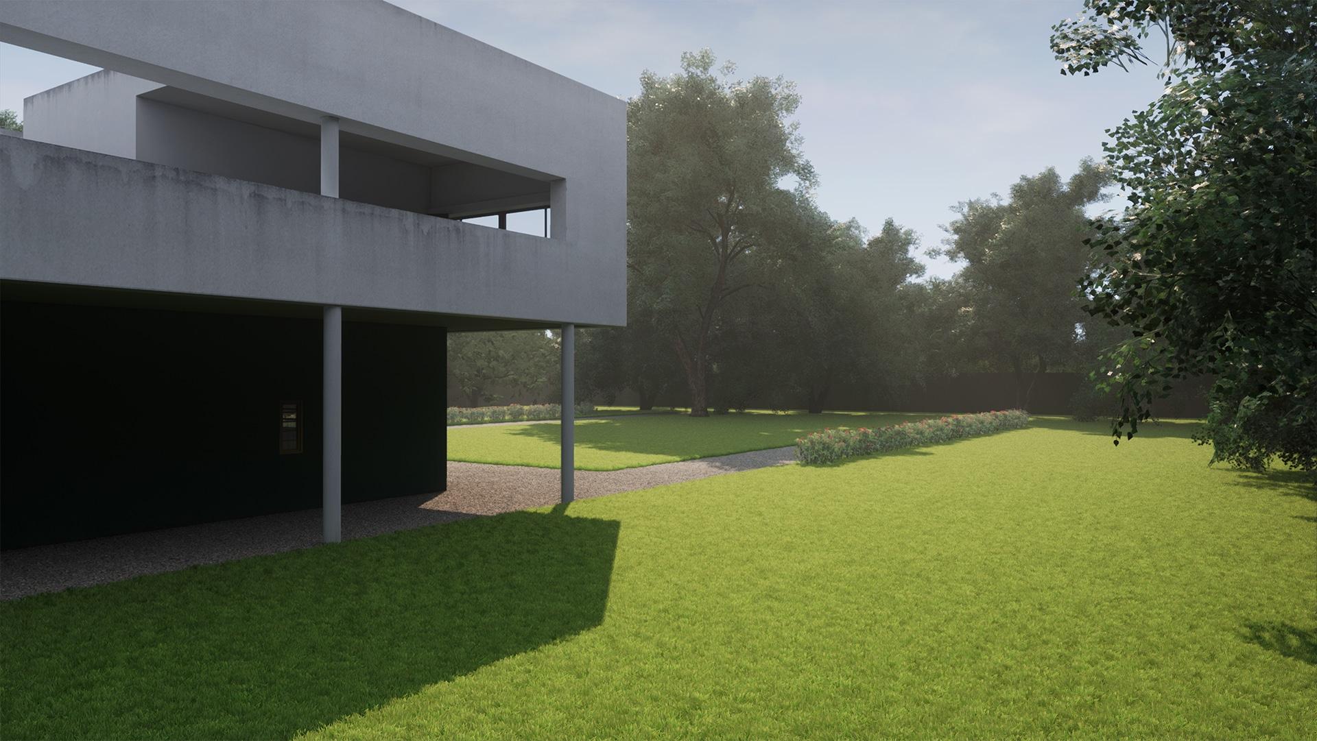Villa Savoye - UE4Arch