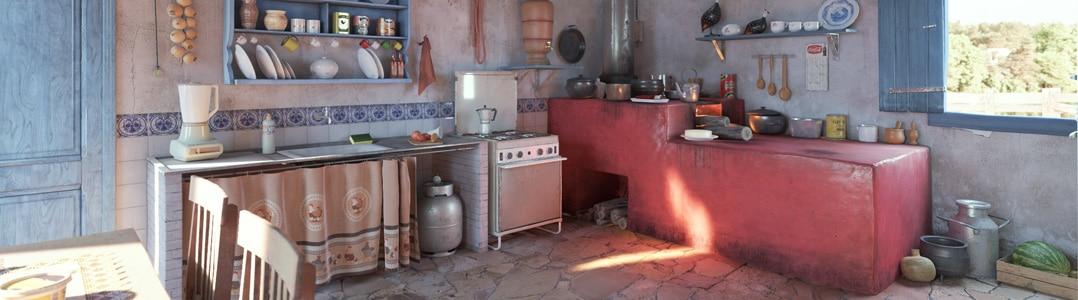 Brazilian Old Kitchen